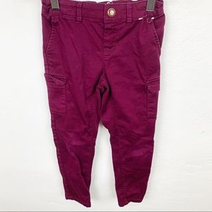 Gymboree l Purple Super Skinny Cargo Pants